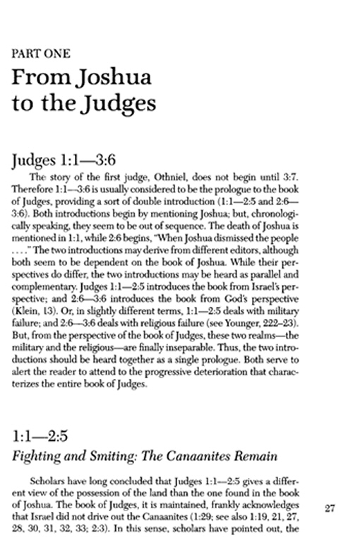 exegesis judges iii The bible of theophilus of antioch  observed that theophilus does not say that exegesis will be found  judges, kingdoms iii and iv.