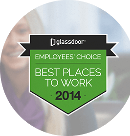 Logos: Glassdoor, Best Places to Work 2014